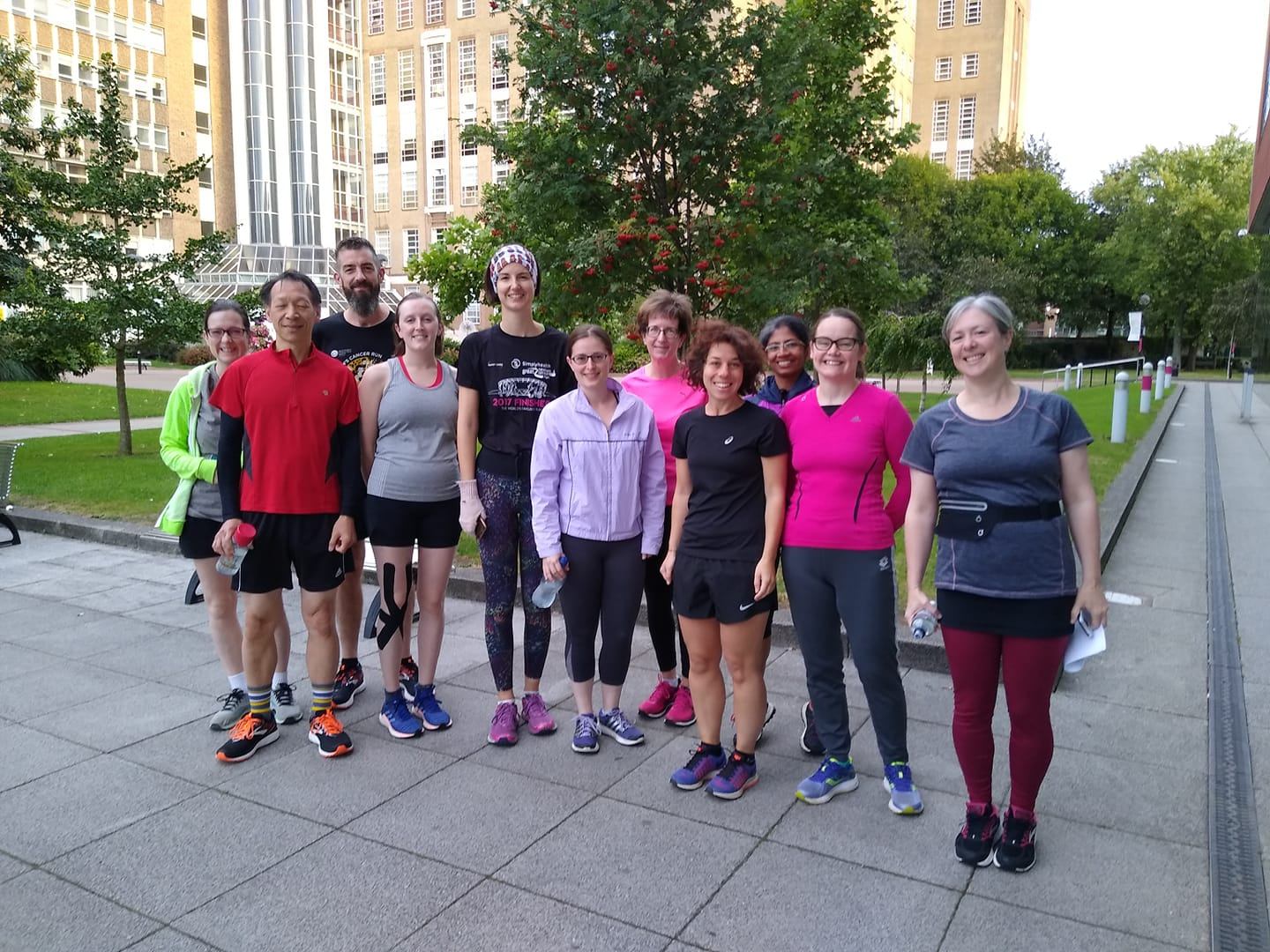 Sfep running group