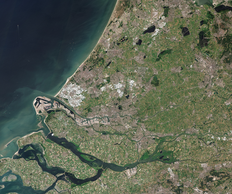 South Holland by Sentinel 2