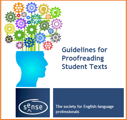 Guidelines for proofreading student texts