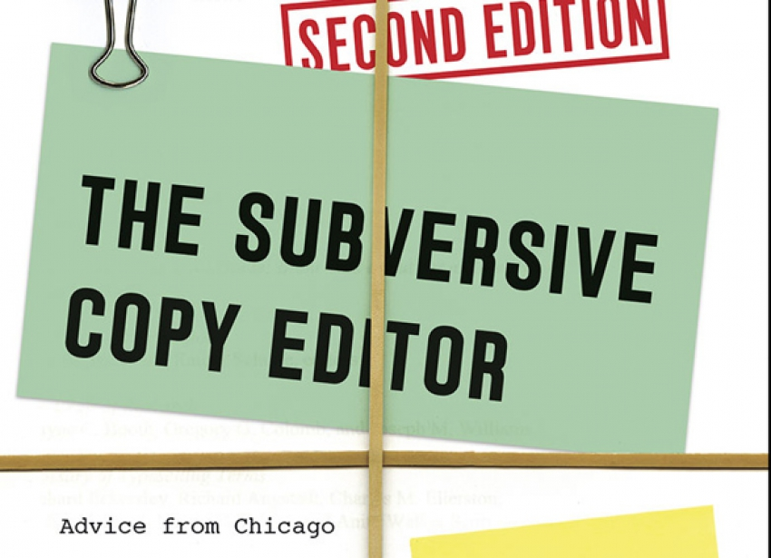 Editing tips from The Subversive Copy Editor